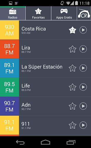 Radios de Costa Rica Radio CR
