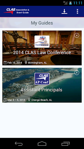CLAS Association Event Guide