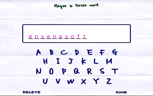 Doodle Hangman HD Free - screenshot thumbnail