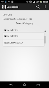 Nelson Mandela Quiz - screenshot thumbnail