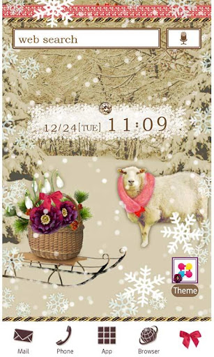 Cute Wallpaper Snowy Sheep 1.0 Windows u7528 1