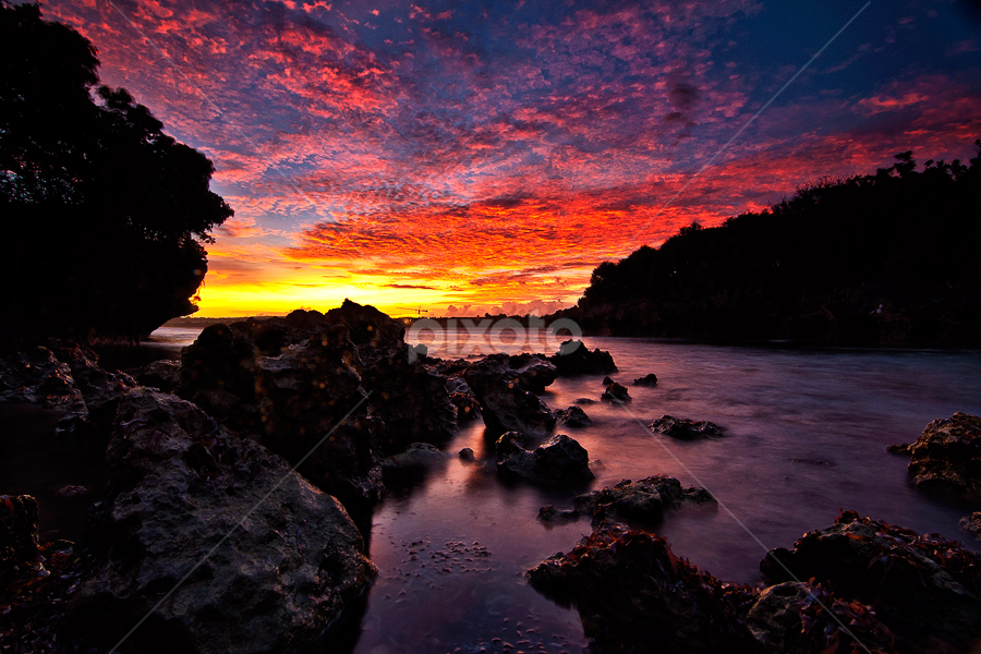 Hidden paradise at Nusa Dua by TEDDY ZUSMA - Landscapes Sunsets & Sunrises