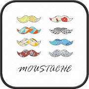 mustache Go Launcher theme