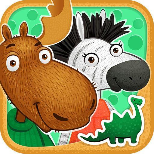 教育必備App Moose & Zebra. Dinos LOGO-綠色工廠好玩App