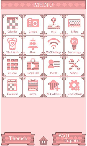 Cute Theme Geometric Winter 1.0 Windows u7528 3