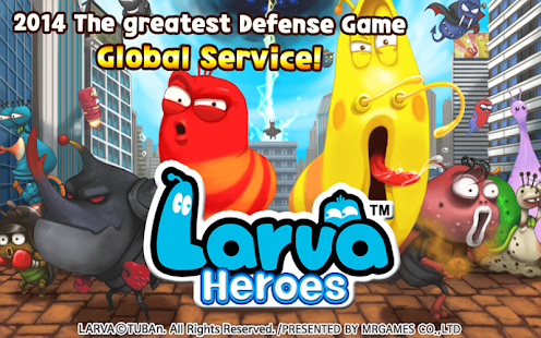 Larva Heroes Lavengers 2014 1.4.8 APK