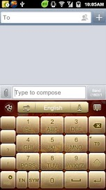 GO Keyboard Fortune Dragon Screenshot 6