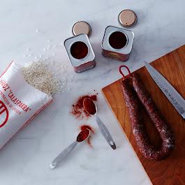 Spanish Paella Ingredient Assortment