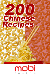 200 Chinese Recipes- screenshot thumbnail
