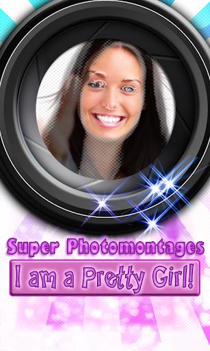 娛樂必備APP下載 Girl's Super photomontages LT 好玩app不花錢 綠色工廠好玩App
