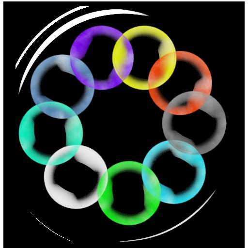 泡泡动态壁纸 個人化 App LOGO-APP試玩