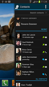 Appsi Contacts plugin screenshot 3