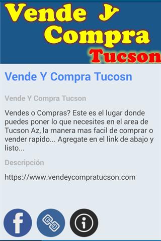 購物必備APP下載|Vende Y Compra Tucson 好玩app不花錢|綠色工廠好玩App