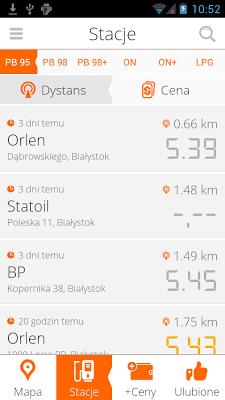 Paliwko | Ceny paliw, Stacje - screenshot