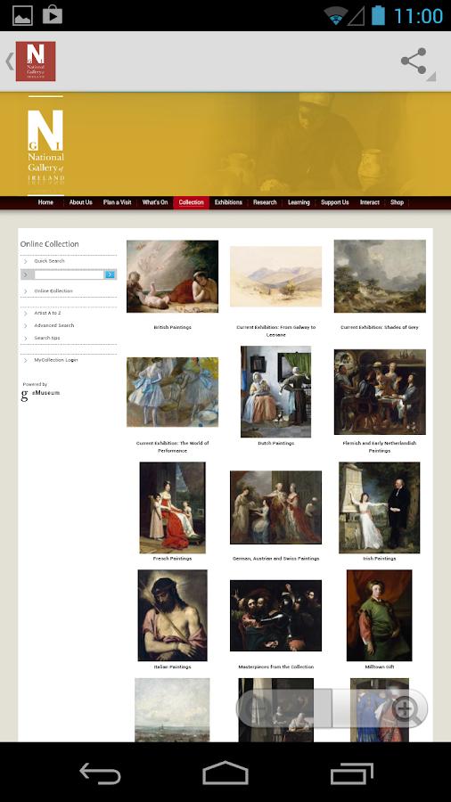 Masterpieces ó bhailiúchán- screenshot