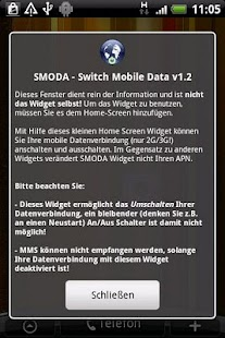 SMODA Widget - screenshot thumbnail