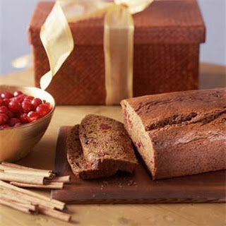 Dried-Cranberry Spice Bread.