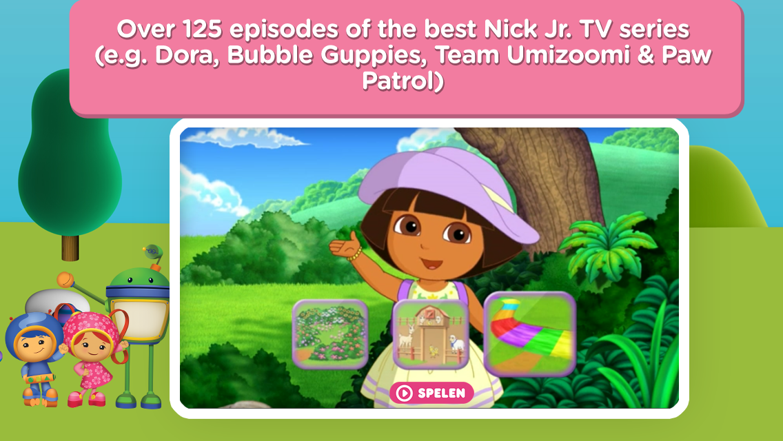 Nick Jr. - Watch & Learn - screenshot