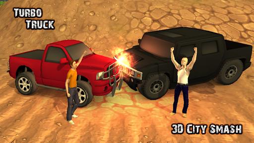 Turbo Truck City Crash 3D