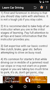 Learn Car Driving Theory Screenshot