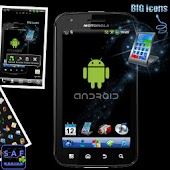 BIG ICONS Pack GO Theme