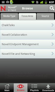 Novell in Hand - screenshot thumbnail