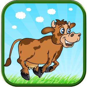 Cow Run Icon
