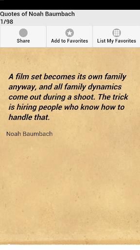 Quotes of Noah Baumbach