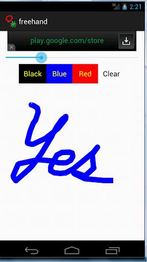 Free Hand Drawer