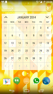 Today - Calendar Widgets - screenshot thumbnail
