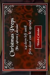 Christmas Preps - Calendar- screenshot thumbnail