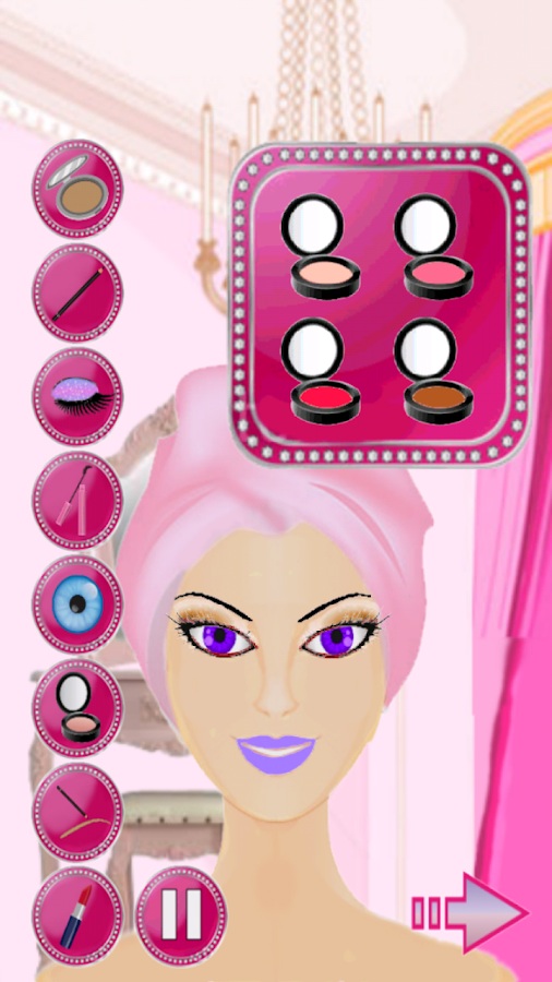 Spa & Makeup Dress up- screenshot