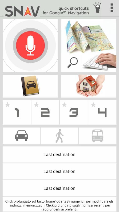 SNAV navigator free - screenshot