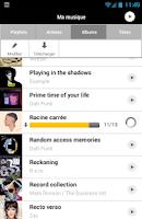 Screenshot of musicMe