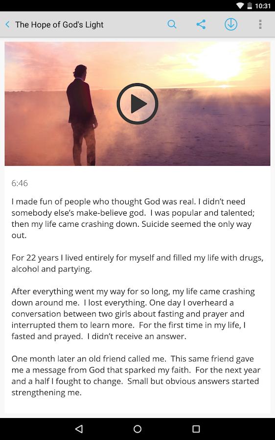 Mormon Channel- screenshot