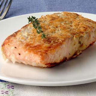 Potato and Double-Horseradish Salmon