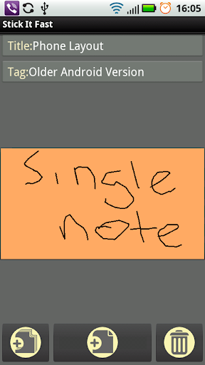 StickItFast - Hand-write Notes