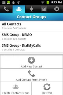 DialMyCalls Voice Broadcasting - screenshot thumbnail