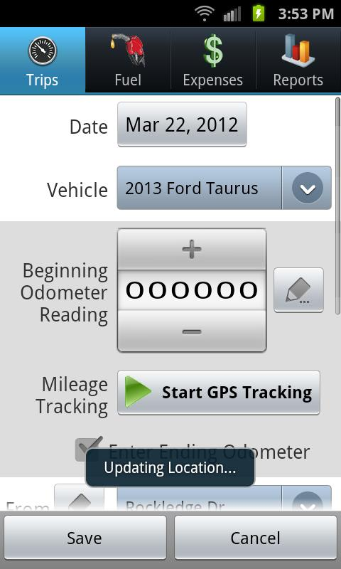 TripLog - GPS Mileage Tracker - screenshot