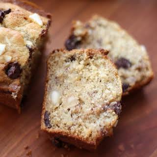 Chocolate Chip Macadamia Nut Banana Bread ~ Gluten Free or Not.