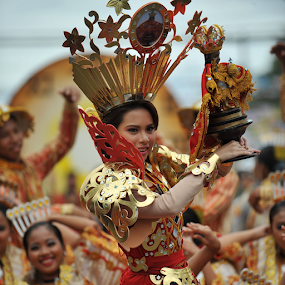 Festival Queen Dance by Ferdinand Ludo - News & Events World Events ( sinulog 2014, festival queen,  )