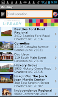 Screenshot of Charlotte Mecklenburg Library