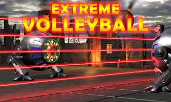 Screenshot of Extreme Volleyball crazy sport