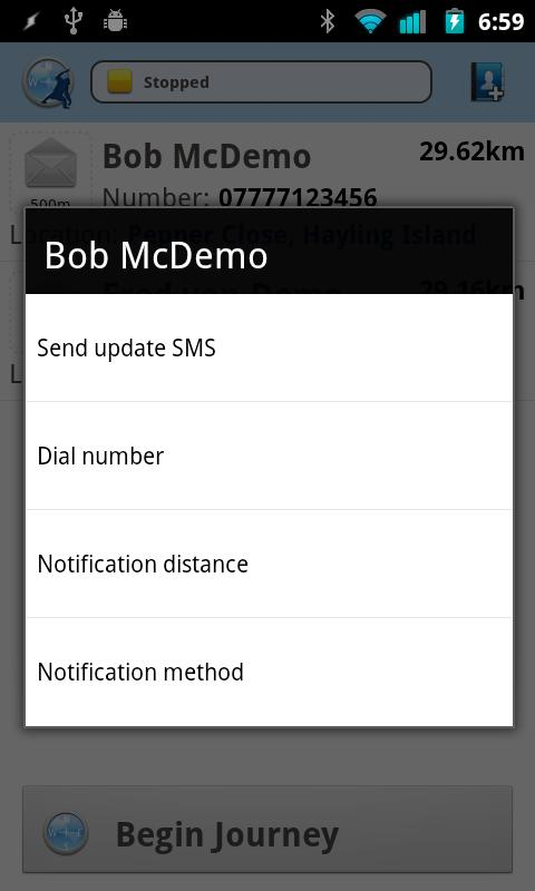 Nearly There SMS Free- screenshot