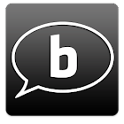 Black for Facebook Messenger icon