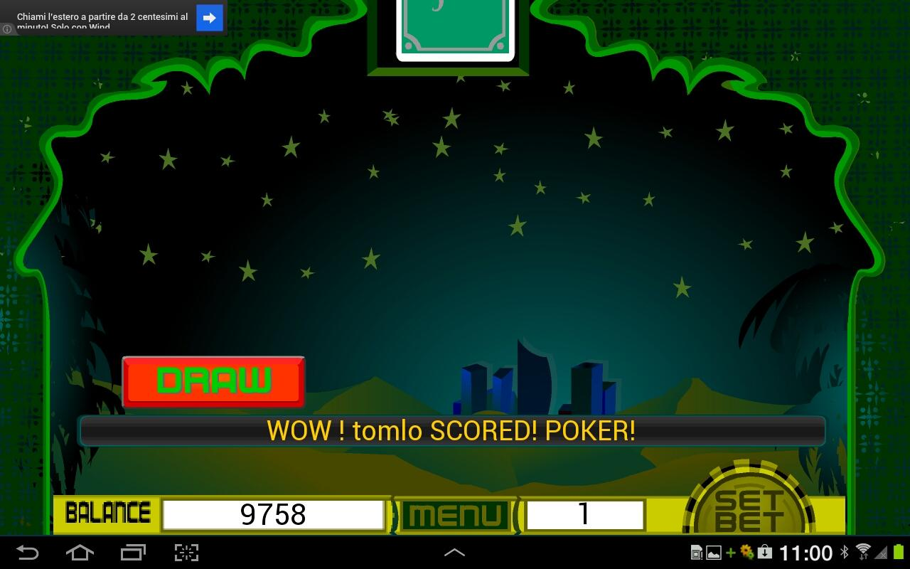 Dubai Poker Machine- screenshot