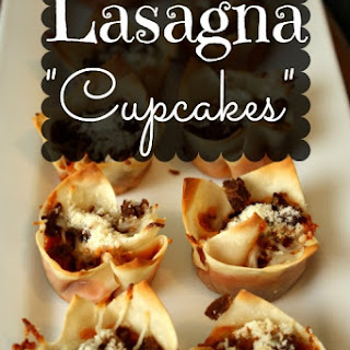 "Lasagna ""Cupcakes""."