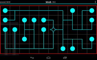 Screenshot of Mesh