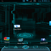Next Launcher Tron Inspired