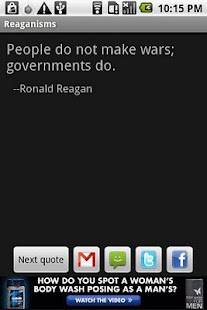 Reaganisms - screenshot thumbnail